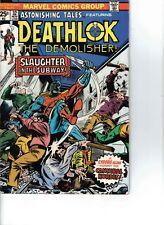 11 marvel comics Deathlok Astonishing tales Spotlight lim series 1 2 3 4 signed