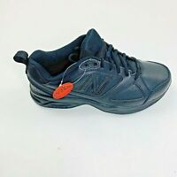 New Balance Mens MX623AB3 Low Top Lace Up Running Sneaker, Black, Size 8 Wide
