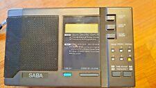 SABA RX160PPL Weltempfänger mit LW und KW