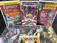 GALACTUS Comic Lot HUNGER 1 2 3 4 Epic Moebius Art Fantastic Four 48 Reprint 1-4