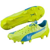 PUMA Evospeed Sl Lth Fg Hommes Chaussures de Football Rasenplatz Neuf ! Scellé