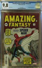 AMAZING FANTASY: Facsimile Edition #15, CGC 9.8, 1st SPIDER-MAN reprint! MN/MT