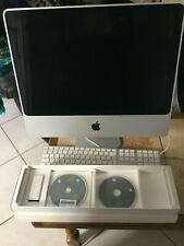 "Apple iMac 20"" Intel Core 2 Duo 2.40GHz 1GB 250GB Mac OS X 10.5.8"
