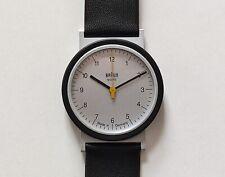 VTG NOS 90s BRAUN Quartz Wrist Watch 4789 AW 10 Lubs Germany Bauhaus 20 12 Rams