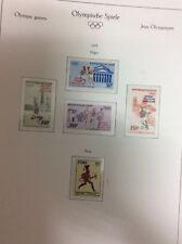 Munich Olympic Games 1972. Niger 2 sets and sheet+Peru stamp