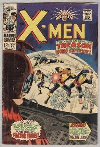 X-Men #37 October 1967 VG