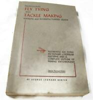 Professional Fly Tying and Tackle Making Manual and Manufacturers' Guide 7th Ed