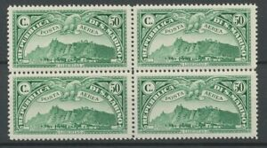 [P639] San Marino 1931 airmail good stamp very fine MNH bloc 4 value $240