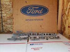 F100 f250 1970 1971 1972 Ford pickup truck Sport Custom bed emblem F100 ..