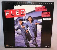Laserdisc {7} * Fled * Laurence Fishburne Stephen Baldwin Will Patton Letter-Box
