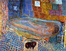 Bonnard Pierre Nude In Bathtub Print 11 x 14 #3292