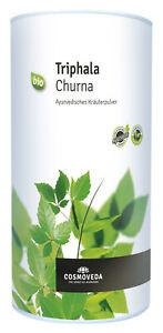 Bio Triphala Churna (Dreifrucht-Pulver), 500 g NEU & OVP von Cosmoveda