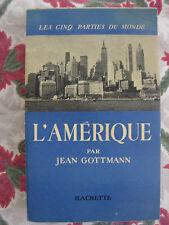 1949 L'Amérique Gotteman Les Cinq parties du monde Voyage illustré