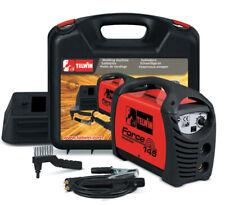 saldatrice inverter Telwin Force 145 kit + valigetta accessori saldatura