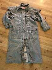 Vintage Australian Outback Collection S Duster Riding Coat Jacket Trench Western