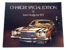 1975 Dodge Charger Special Edition SE Original Car Sales Brochure Catalog