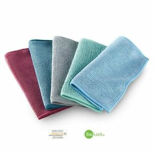 NORWEX ENVIROCLOTH TRAVEL PACK (plum, teal, graphite, green, blue) SET OF 5