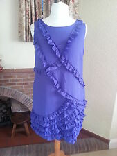 Monsoon Purple Dress Size 18