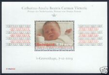 Nederland NVPH 2243 Vel Koninklijke Famillie Geboorte Amalia 2003 Postfris