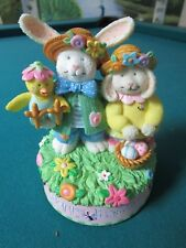 """THE SAN FRANCISCO MUSIC BOX HAPPY EASTER PLAYS """"EASTER PARADE"""""""