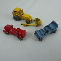 Vintage Diecast Micro Car lot of 3
