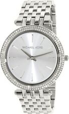Michael Kors Women's Darci MK3190 Silver Stainless-Steel Quartz Fashion Watch