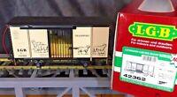 LGB 42362 Sheep Boxcar w/Sound G-Scale Original Box