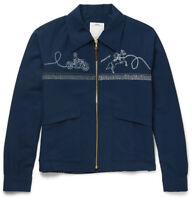 $1890 Visvim Traverse Swing WASHI YARN Navy Jacket cowboy lassoing New 1 2 3 4