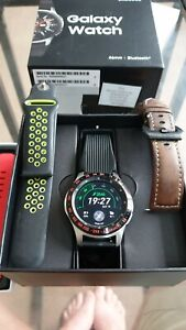 Samsung Galaxy SM-R800 46mm Black Smart Watch, Great working smartwatch