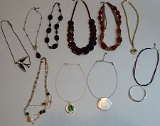 LOT Women's Fashion Jewelry Necklaces