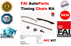 FOR VOLVO XC60 T5 2.0 B4204T7 241BHP 2010-2014 NEW 6 PIECE TIMING CHAIN KIT