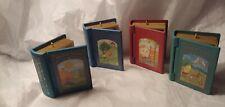 4 Hallmark Christmas Ornaments.Childrens Book Series 1990's