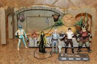Star Wars Jabba the Hutt Throne Playset & Jabbas Palace Adventure set Boba Fett