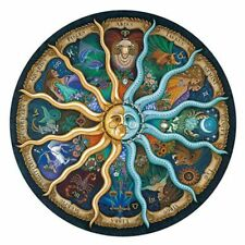 Zodiac Horoscope Jigsaw Puzzle 500 Pieces DIY Constellation Paper Puzzles