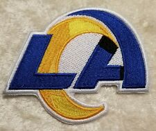 """Los Angeles LA Rams NEW 3.25"""" Iron/Sew On Embroidered Patch ~US Seller~"""
