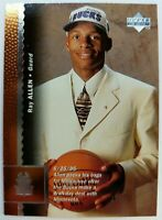 1996 96 Upper Deck Ray Allen Rookie RC #69, Bucks, Heat