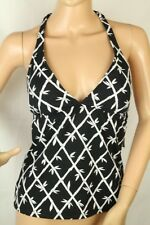 Women's Swimwear Tankini Top Halter Black Size S