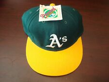 OAKLAND A'S NEWERAA DIAMOND VINTAGE DEADSTOCK HAT CAP FITTED SZ 7 1/2