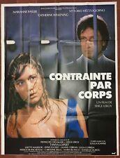 Affiche CONTRAINTE PAR CORPS Serge Leroy MARIANNE BASLER 120x160cm *