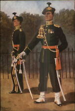 Dutch Netherlands Military Uniforms Garderegiment Grenadiers 1949 Postcard #5