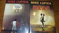 Lot of 2 Mike Lupica books, Travel Team and Heat