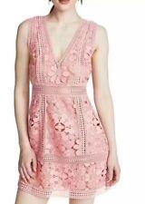 alice olivia  Zula Party Dress Pink Lace