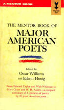 B0007DPKXM The mentor book of major American poets,: From Edward Taylor and Wal