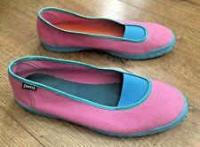 Ladies Camper Shoes Trainers Pink Walking Comfort Slip On Designer UK Size 8