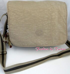 New w Tag KIPLING HAYDAN CrossBody Messenger Bag with Laptop Protection