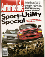 Automobile Mag Apr 1997 - Mercedes SLK230 - Durango - Ford F-150 Lariat