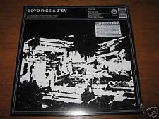 """BOYD RICE & Z'EV """"Split"""" LP  Coil Death in June Sunn o)"""