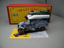 Matchbox MoY Code 2 YGL-43 Morris Moyshop Weihnachten rote Box 1 von 9 blau