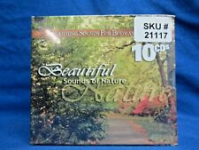 BRAND NEW! BEAUTIFUL SOUNDS OF NATURE 10 CD'S SOOTHING SOUNDS FOR BODY & SOUL