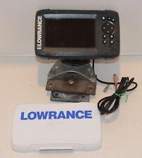 LOWRANCE HOOK 5X HDI FISH FINDER SCANER SONAR GPS HEAD UNIT MONITOR DISPLAY